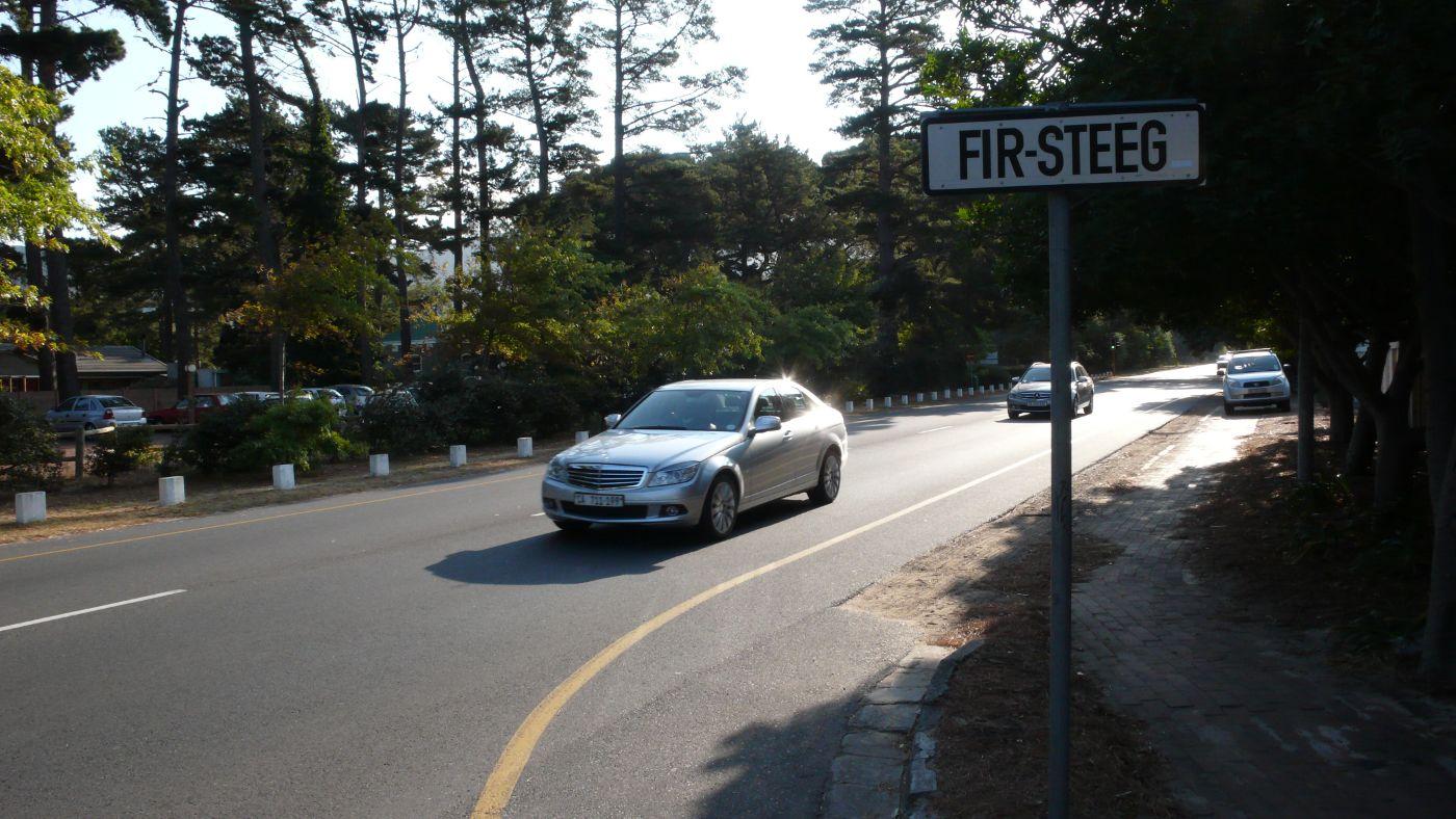 Fir Steeg Tokai street=