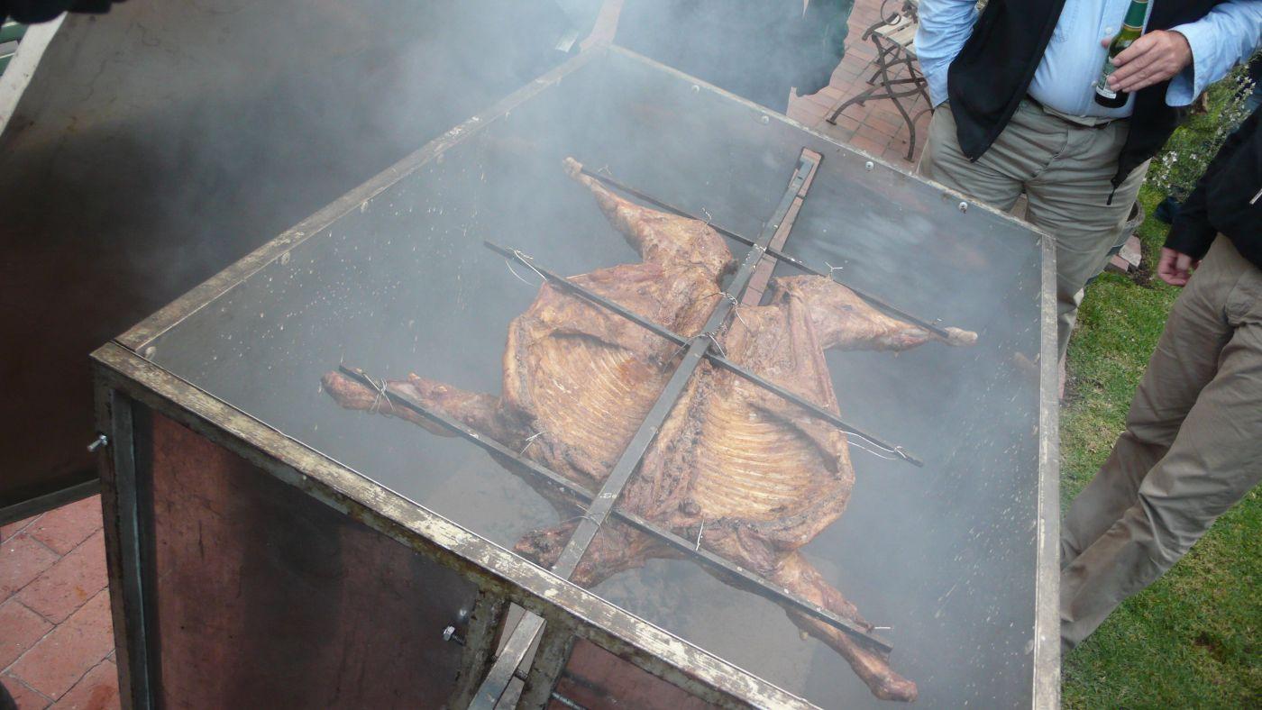 Smoked lamb=